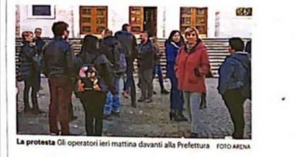 VICINANZA AI 54 OPERATORI CUP DELL'AZIENDA OSPEDALIERA DI COSENZA DIPENDENTI DELLA COOP S.E.A.T. T.