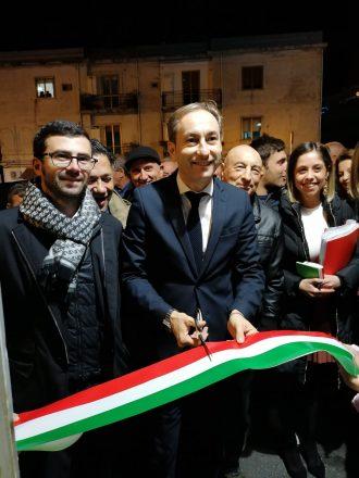 DI NATALE INAGURA IL COMITATO ELETTORALE DI PAOLA