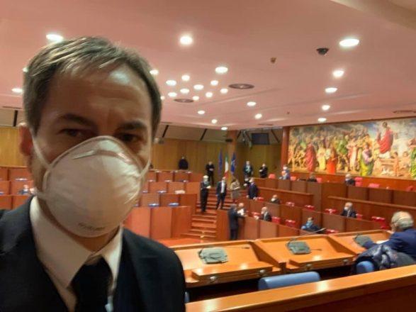 DI NATALE ELETTO NELL'UFFICIO DI PRESIDENZA DEL CONSIGLIO REGIONALE  IN QUALITÀ DI SEGRETARIO-QUESTORE