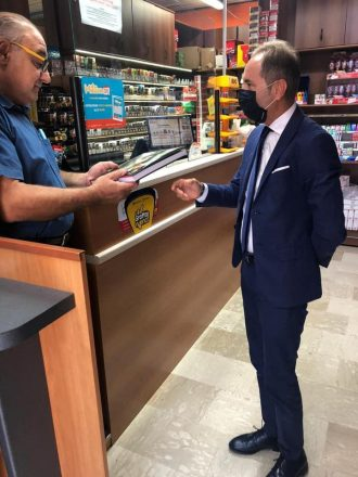 LOTTA ALLA 'NDRANGHETA: DI NATALE INCONTRA L'IMPRENDITORE CARMINE ZAPPIA